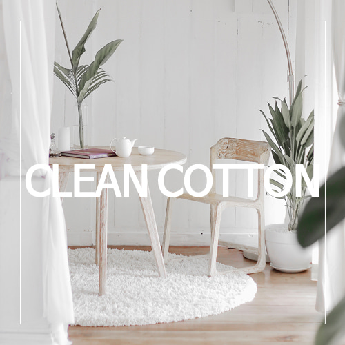 [USA] CLEAN COTTON_클린 코튼(WL)