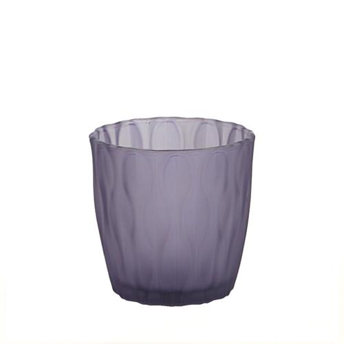 웨이브 캔들용기 [250ml / 퍼플](WL)