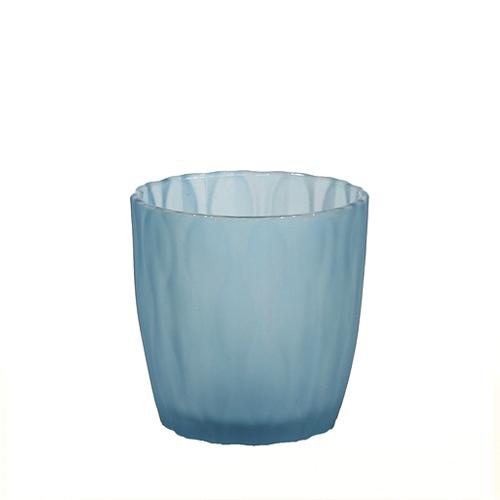 웨이브 캔들용기 [250ml / 블루](WL)