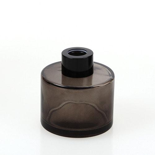 디퓨저용기_기본원형 [100ml / 블랙 / 블랙캡](WL)