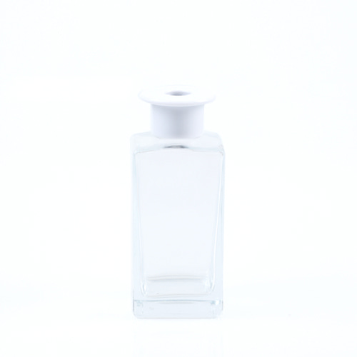T 쉐입용기_사각 [250ml / 투명 / 화이트캡](WL)