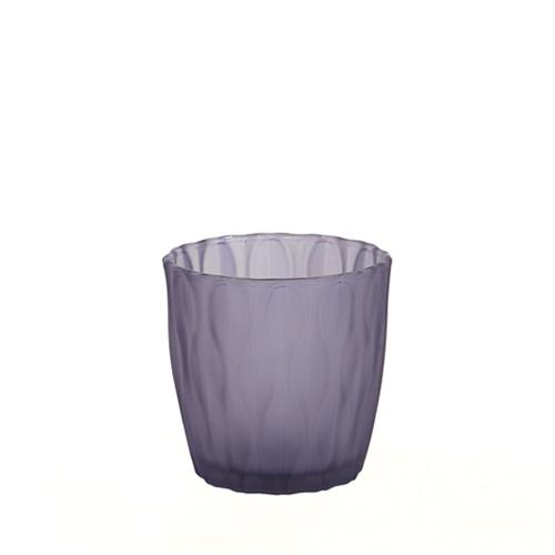 웨이브 캔들용기 [140ml / 퍼플](WL)