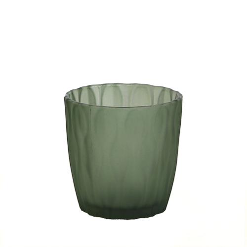 웨이브 캔들용기 [250ml / 그린](WL)