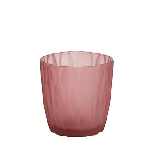 웨이브 캔들용기 [250ml / 레드](WL)